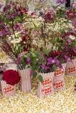 Popcorn Flower arrangement. A beautiful Popcorn Flower arrangement Royalty Free Stock Photography