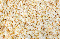 Popcorn food background. Fresh popcorn, food background close up Royalty Free Stock Photos