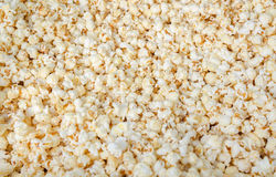 Popcorn food background. Fresh popcorn, food background close up Stock Images