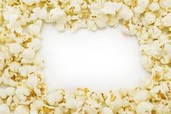 Popcorn frame Stock Photos
