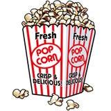 Popcorn fresco Immagini Stock Libere da Diritti