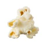 Popcorn getrennt auf weißem Hintergrund Lizenzfreies Stockfoto