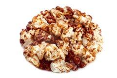 Popcorn glazed in caramel Royalty Free Stock Image