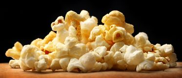 Popcorn heap Royalty Free Stock Photo