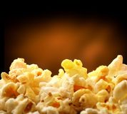 Popcorn heap Stock Photo