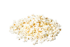 Popcorn heap close-up Royalty Free Stock Photography