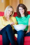 Popcorn At Home Stock Photography