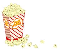 Popcorn Illustration: Realistic Vector Stock Photo