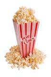 Popcorn im Behälter Lizenzfreie Stockfotografie