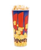 Popcorn im Eimer Lizenzfreies Stockfoto