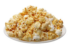 Popcorn, isolated Royalty Free Stock Images