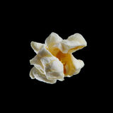 Popcorn isolated on black Royalty Free Stock Image