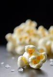 Popcorn isolated on black background Royalty Free Stock Photo