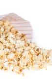 Popcorn isolated on white Stock Images