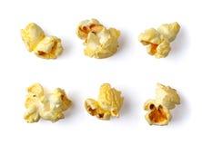 Popcorn. Isolated on white background Royalty Free Stock Photography