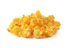 Popcorn isolated on white Stock Image