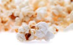 Popcorn isolated on white Stock Photos