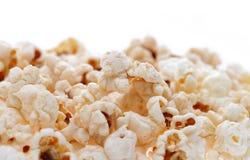 Popcorn isolated on white Royalty Free Stock Photo