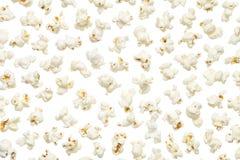 Popcorn Isolated on White Background Stock Photos