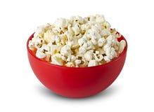 Popcorn in kom royalty-vrije stock fotografie