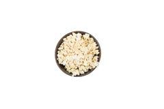 Popcorn in kop Royalty-vrije Stock Fotografie