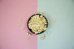 Popcorn in kop Royalty-vrije Stock Afbeeldingen