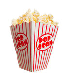 Popcorn largo fotografia stock