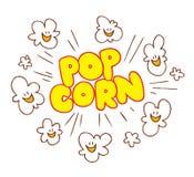 Popcorn stock illustration