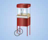 Popcorn machine Royalty Free Stock Photo