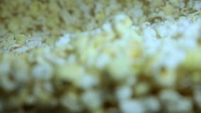 Popcorn Machine Popcorn stock footage