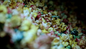 Popcorn Machine Popcorn stock video