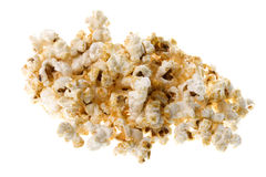 Popcorn Macro Isolated Royalty Free Stock Photography