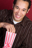 Popcorn Man Royalty Free Stock Image