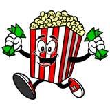 Popcorn with Money Royalty Free Stock Photo