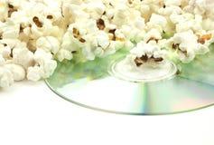 Popcorn and movie Royalty Free Stock Photos
