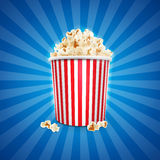 Popcorn movie Royalty Free Stock Images