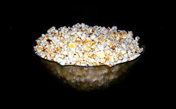 Popcorn Movie time Stock Photo