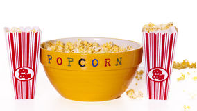 Popcorn for movies Royalty Free Stock Images