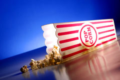 Popcorn at the Movies Stock Photos