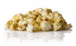 Popcorn in mucchio Fotografia Stock