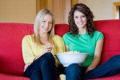 Popcorn nel paese fotografia stock libera da diritti