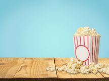 Popcorn. Overflowing Sweetcorn Corn Crop Food Deflated Freshness Royalty Free Stock Photos