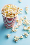 Popcorn in paper cup Royalty Free Stock Photos