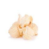 Popcorn pile isolated on white Stock Images