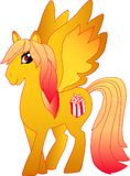 Popcorn Pony Pop Arkivbilder