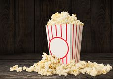 Popcorn. Overflowing sweetcorn corn crop food deflated freshness stock images