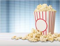 Popcorn. Overflowing sweetcorn corn crop food deflated freshness royalty free stock photo