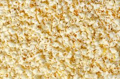 Popcorn, popped corn, surface and background royalty free stock images