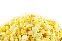 Popcorn. Popped kernels of pop corn snack Stock Images