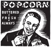 popcorn illustrazione di stock